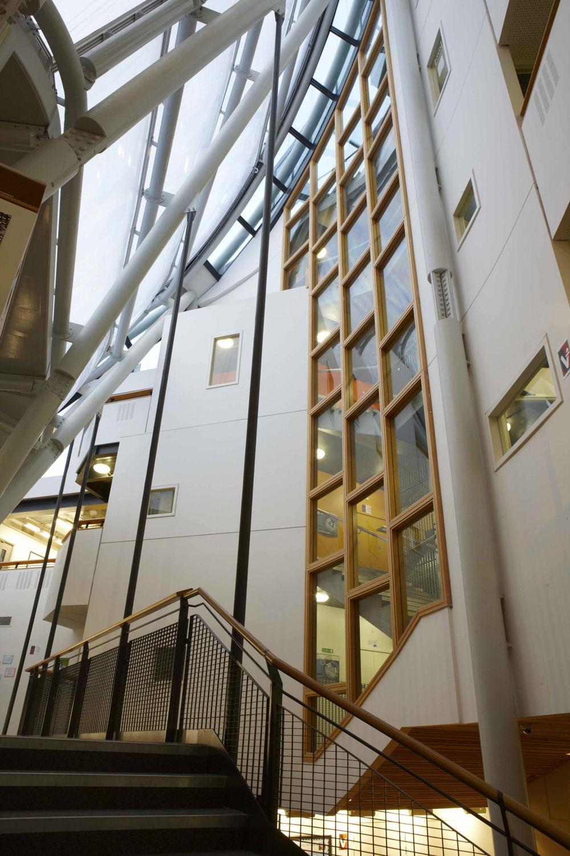 Bridge Academy Atrium, Hackney | London Architecture Photographer