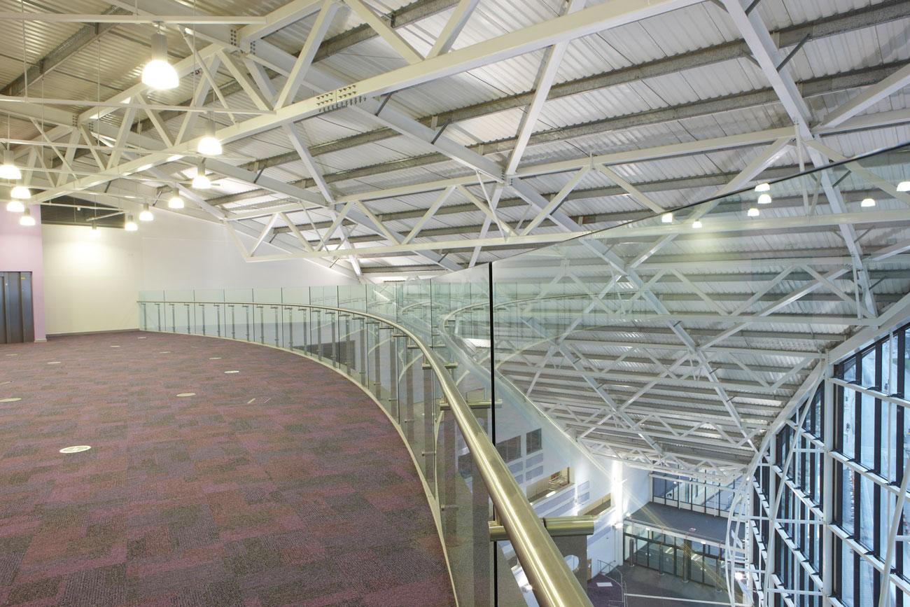 Sandwell College Atrium, Birmingham | Construction Site Photography