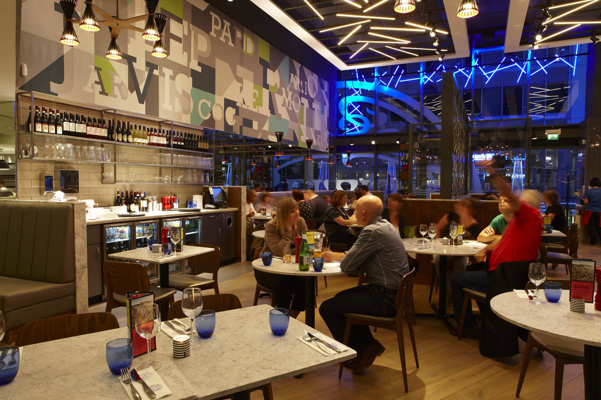 Pizza Express, St Pauls Place, Sheffield | Restaurant Photographers London