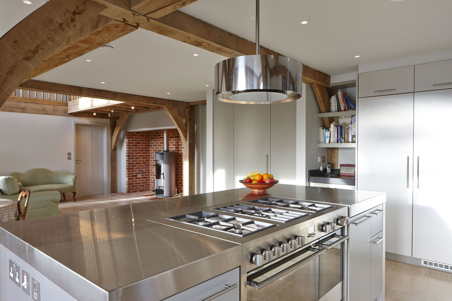 Stable Cottage Kitchen, Liss, Hampshire | Residential Photographer Hampshire | Interior Photography