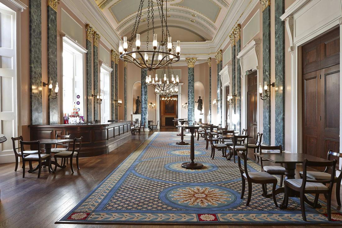 Theatre Royal Grand Salon, Drury Lane London   Interior Photographer