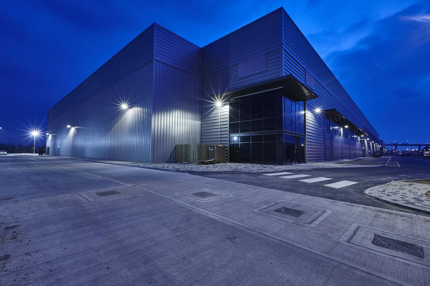 The Tower New Build Warehouse Development, West Thurrock | Commercial Property Photographer | Industrial Photography