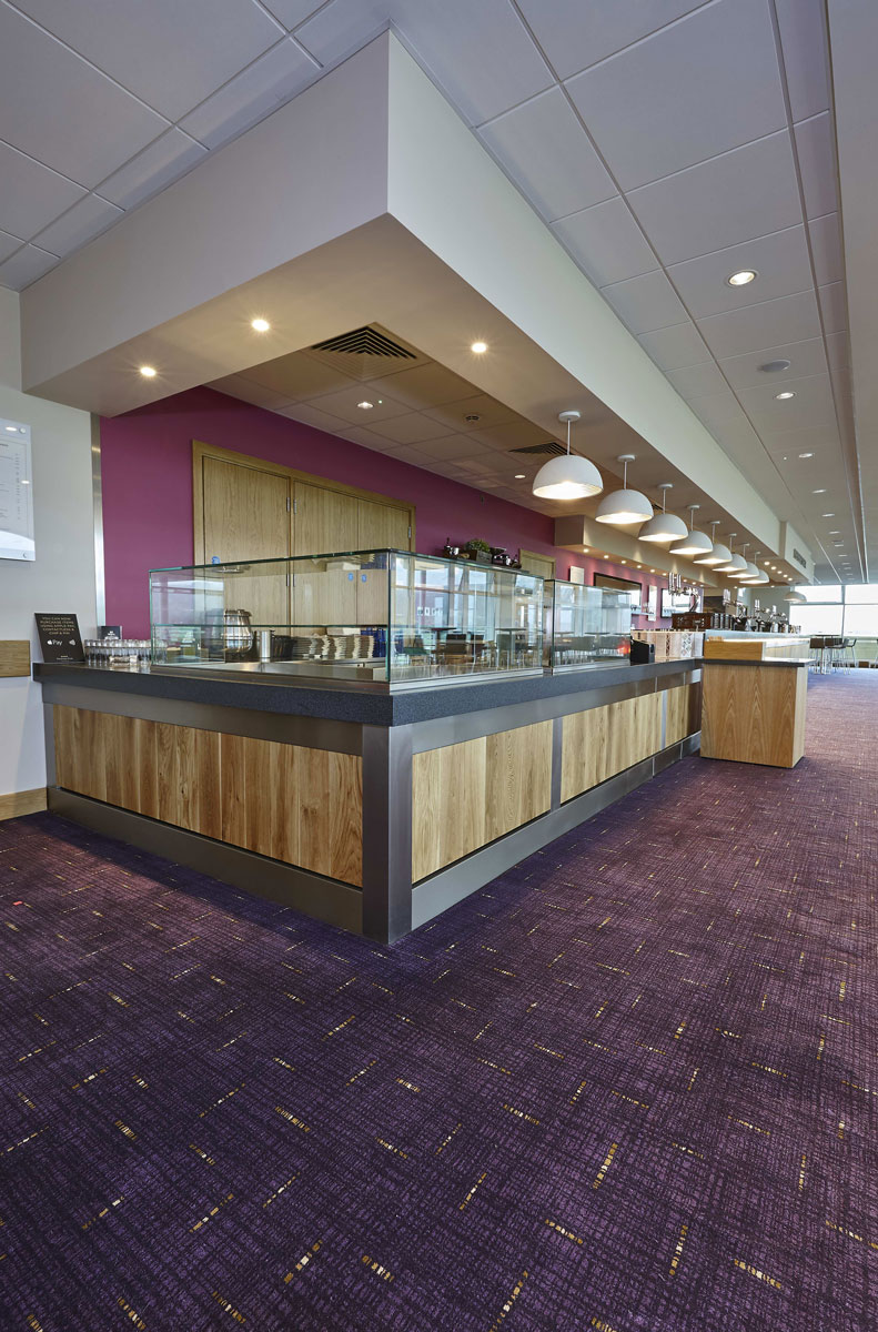 Princess Royal Grandstand Cheltenham Racecourse Bar | Commercial Interior Photographer | Interior Photography