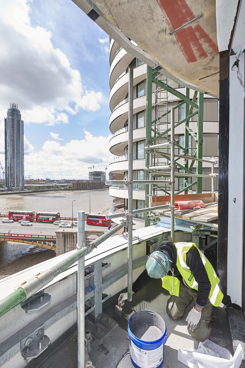 Riverwalk Apartments, Westminster, SW1 | Architectural Installation Photography