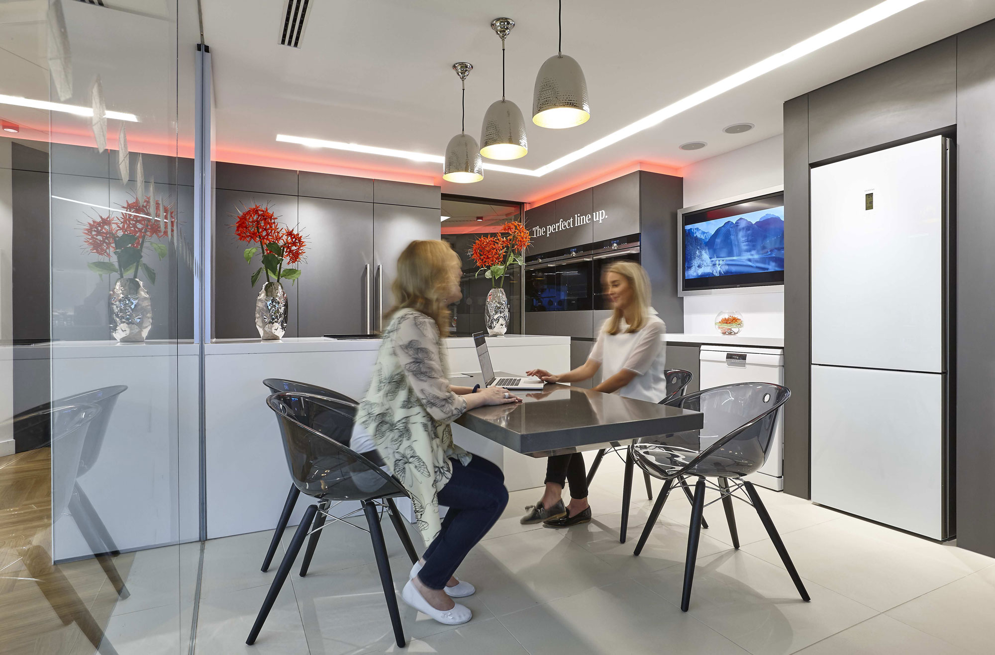 Bosch Siemens Neff Showroom Bosch Product Demonstration Area. Milton Keynes   London Interior Photographer