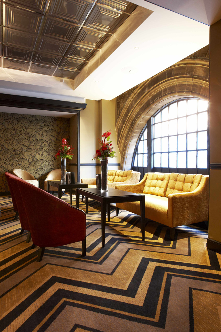 Grand Central Hotel Bar, Glasgow | Hotel Photography UK