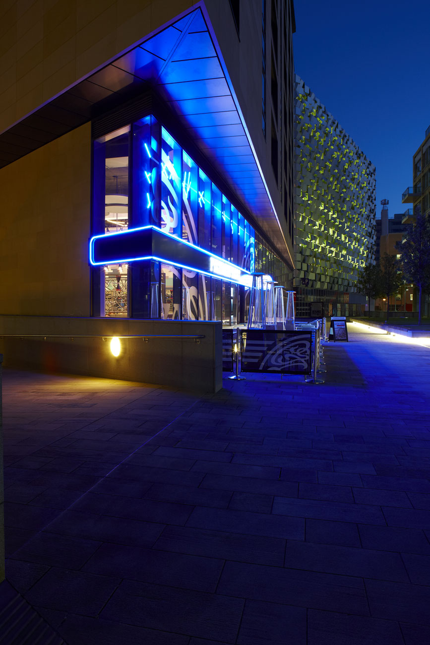 Pizza Express, St Pauls Place, Sheffield | Restaurant Photography | Architectural Photographers