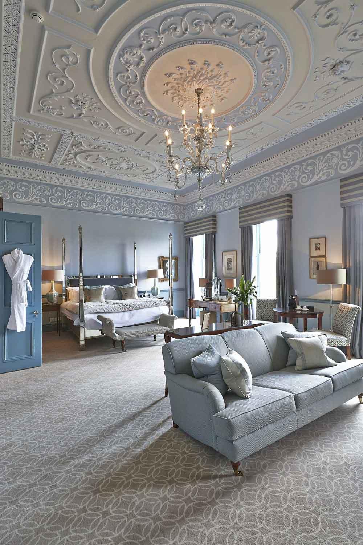Duke of York Suite, Royal Crescent Hotel, Bath | London Hotel Photographer