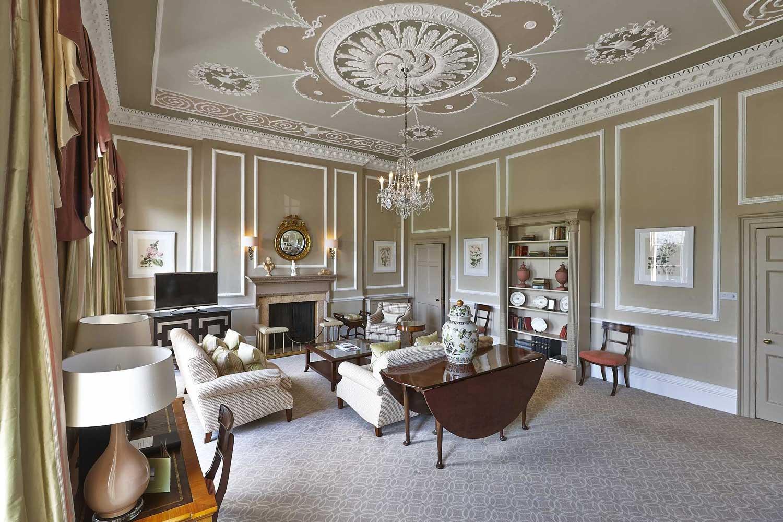 Royal Crescent Hotel suite living area | London Hotel Photographer