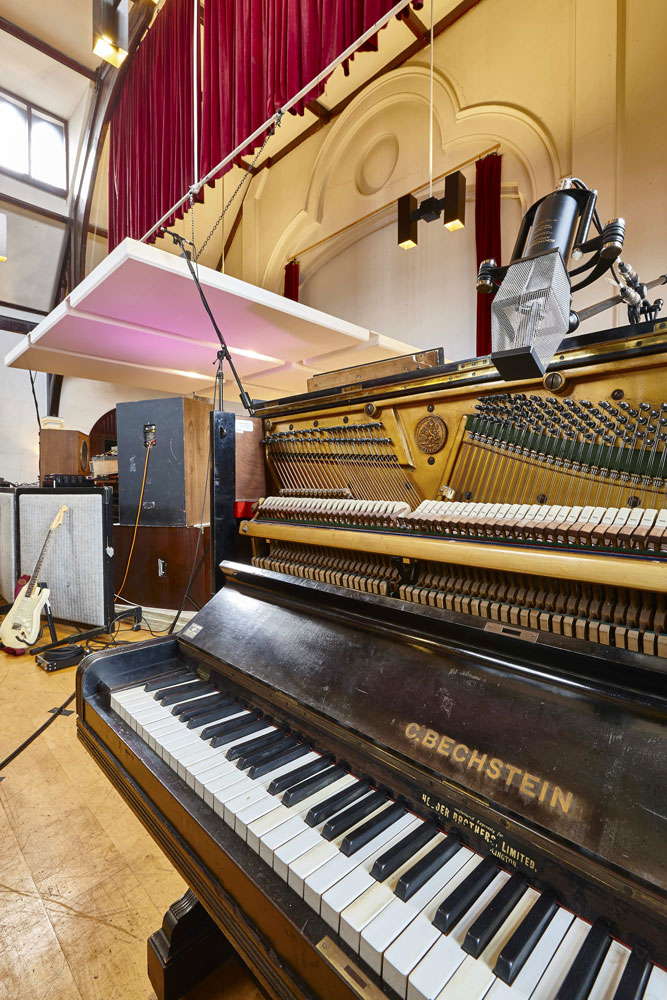 Studio 1, The Church Recording Studio, formerly owned by Dave Stewart of the Eurythmics | Commercial Photographer
