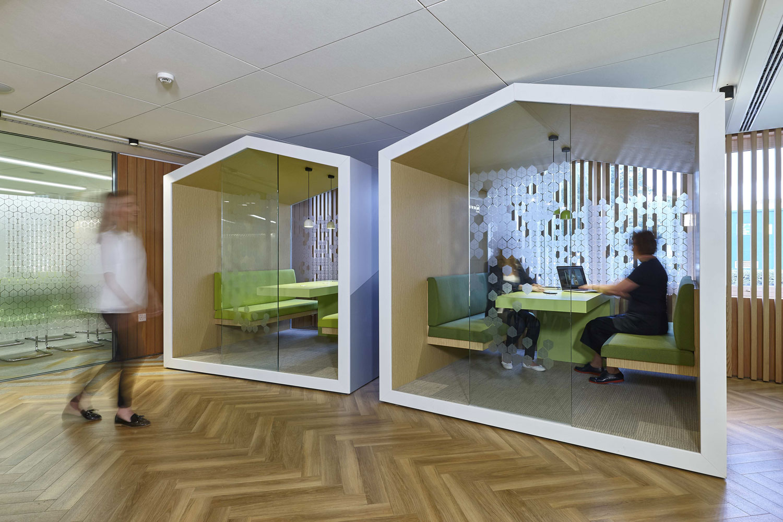 Siemens Bosch Neff Meeting Pods Milton Keynes  London Interior Photographer