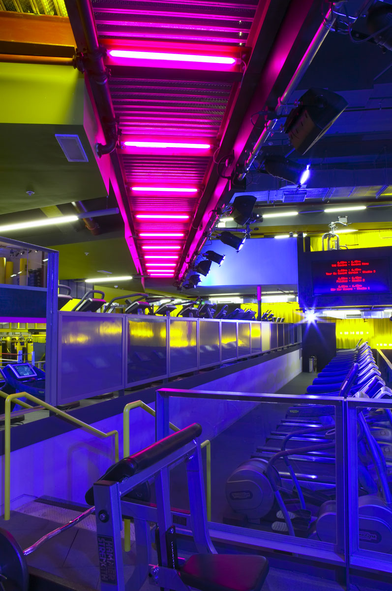 Gymbox Covent Garden, London space efficiency   Photographer Interiors   Commercial Professional Photographer
