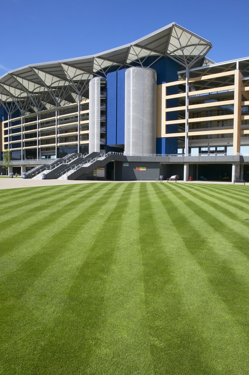 Royal Ascot Racecourse Grandstand Exterior | Interior Architectural Photography