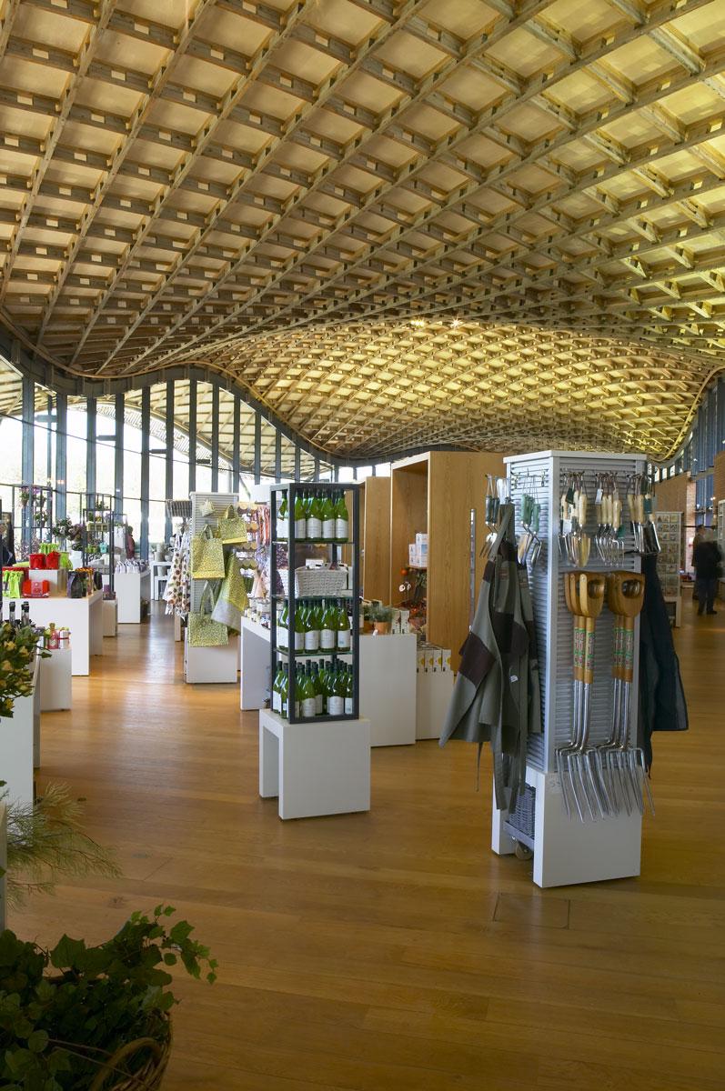 Savill Building Interior, Windsor Great Park | Architectural Photographer London | Location Photographer
