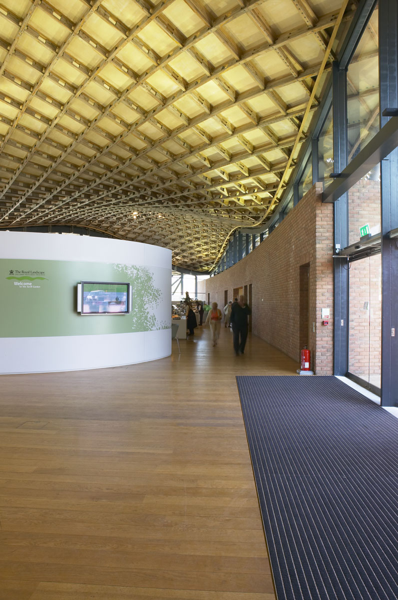 Savill Building Entrance Area, Windsor Great Park | Architecture Photographers
