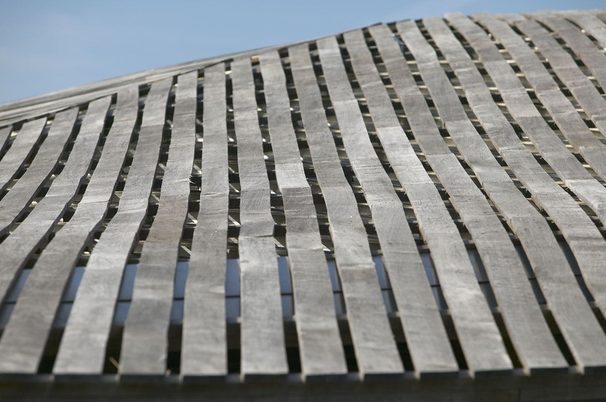 Savill Building Roof Detail, Windsor Great Park | Architecture Photographers | Location Photographer