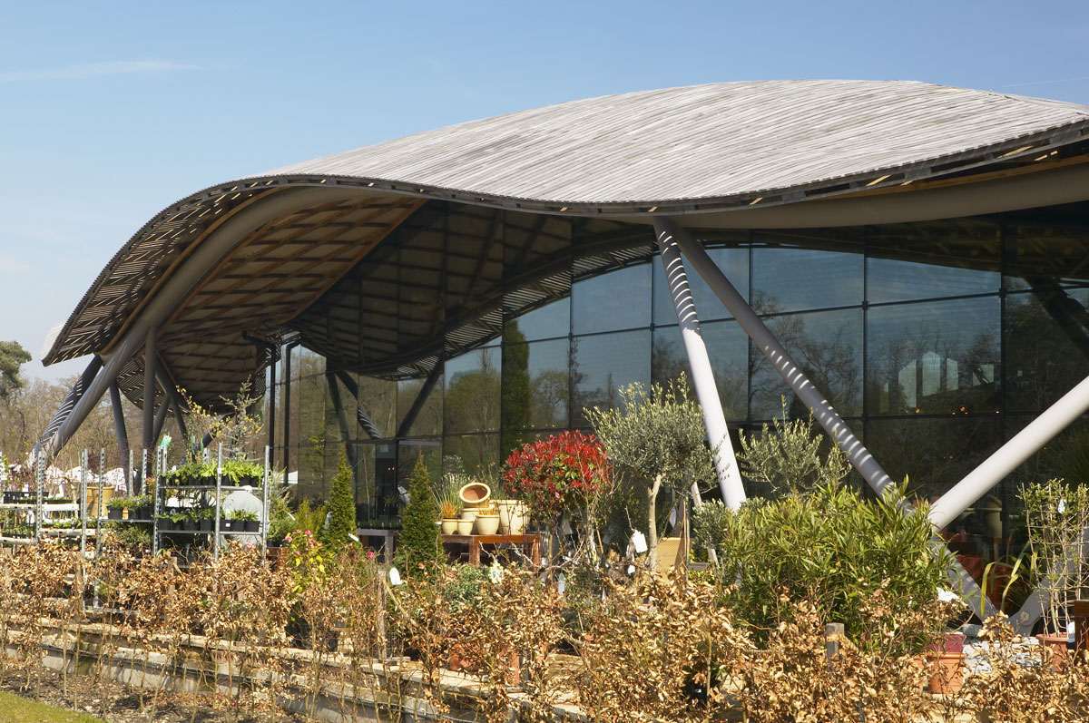 Savill Building Roof Detail, Savill Garden, Windsor Great Park | Architecture Photographers