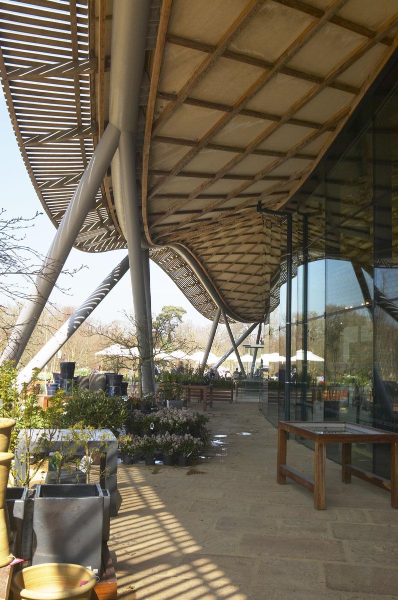 Savill Building Roof Ring Beam Detail, Savill Garden, Windsor Great Park | Architecture Photographers