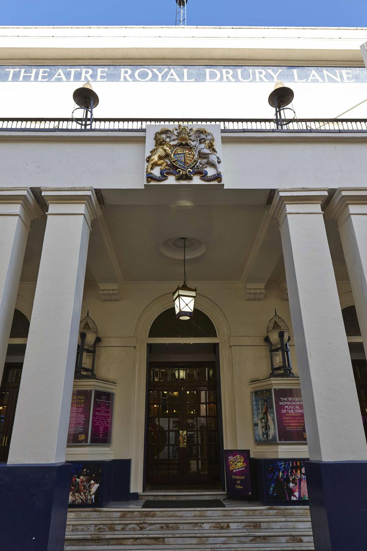 Theatre Royal Entrance, Drury Lane London | London Interior Photography | Commercial Interiors Photographers