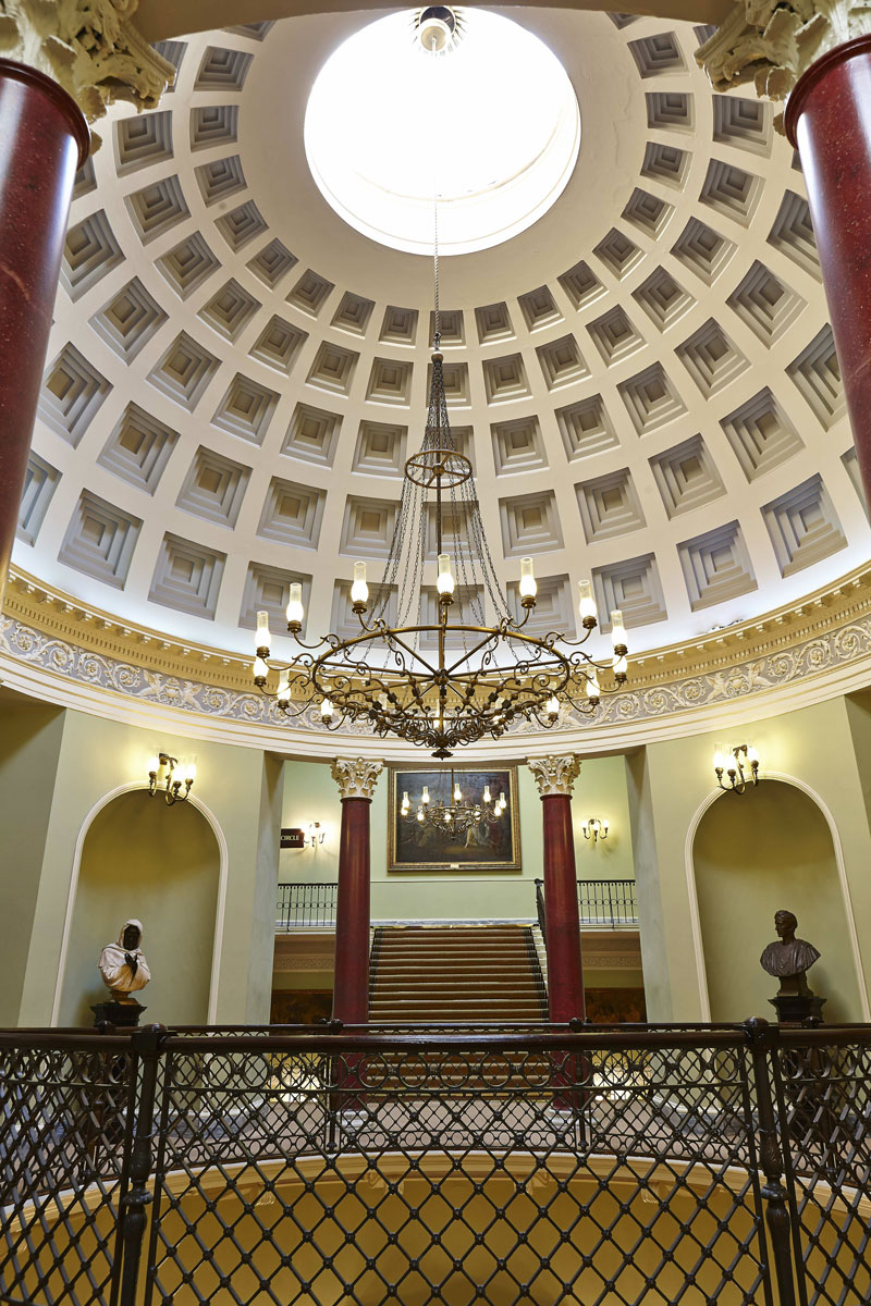 Theatre Royal Drury Lane London, Rotunda Ceiling 1825 | London Interior Photography | Commercial Interiors Photographers