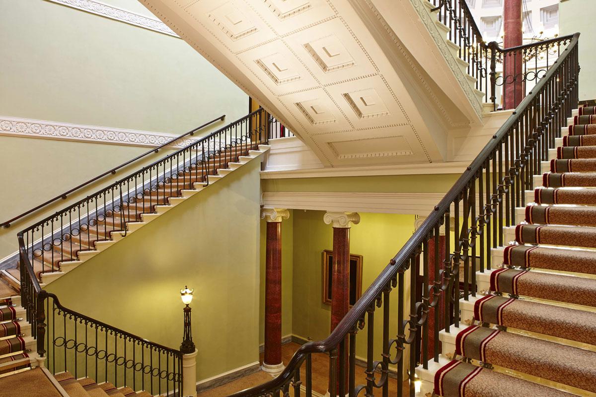 Theatre Royal Lower Rotunda Balcony, Drury Lane London | London Interior Photography | Commercial Interiors Photographers