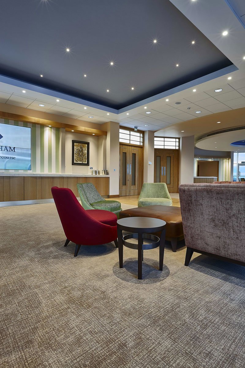 Princess Royal Grandstand Cheltenham Racecourse Royal Box | Interior Architecture Photographer