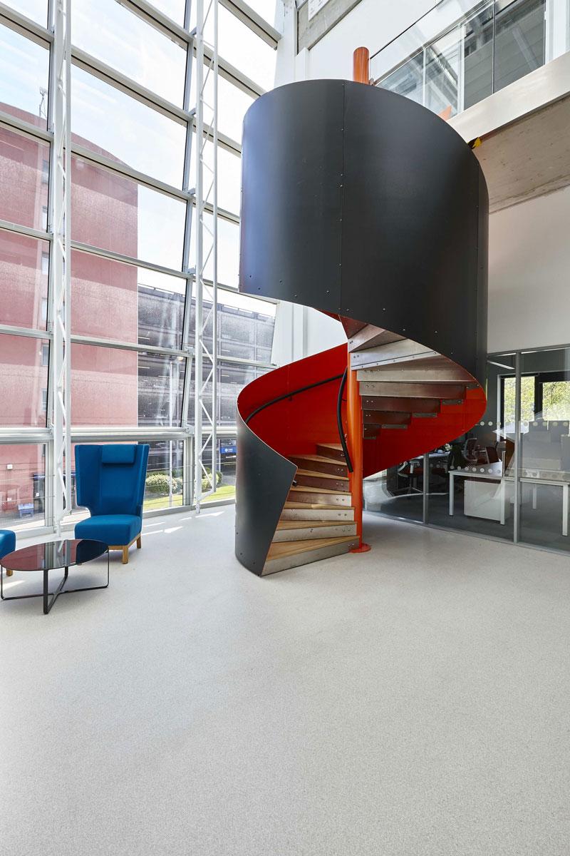 National Graphene Institute Atrium, Manchester | Interior Architectural Photography