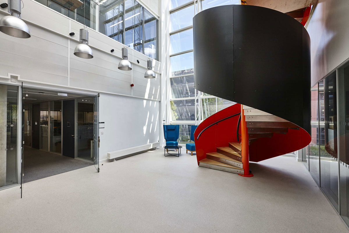 National Graphene Institute Atrium, Manchester | Architectural Photographers London | Commercial Photography