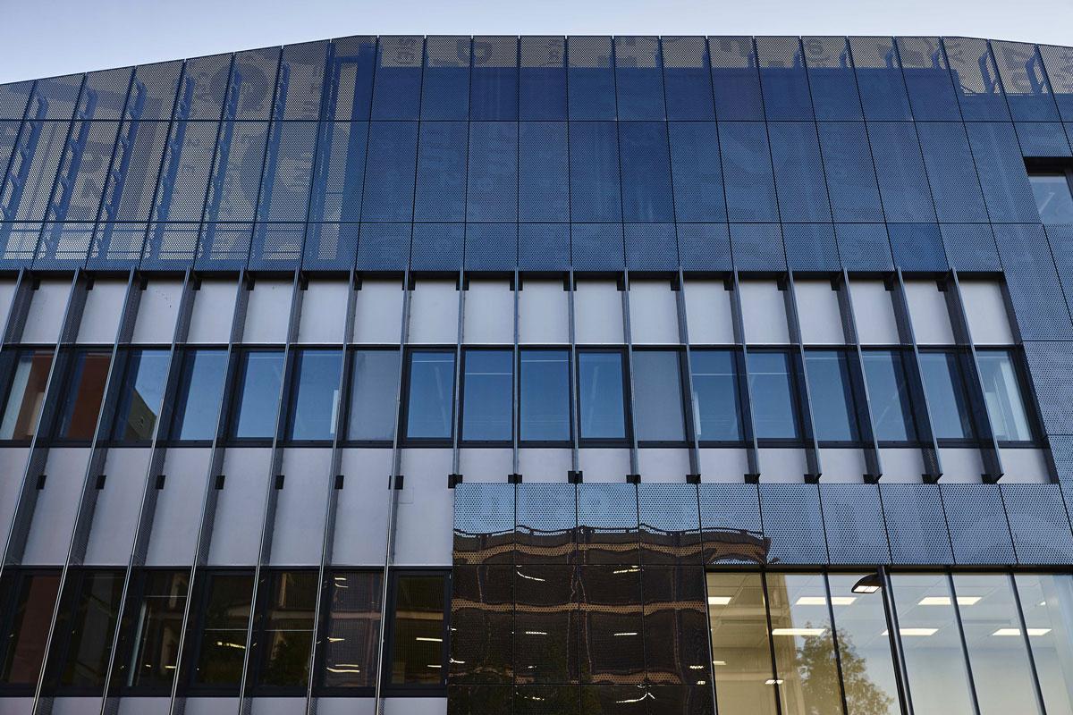 National Graphene Institute Facade, Manchester   Architectural & Interior Photographer