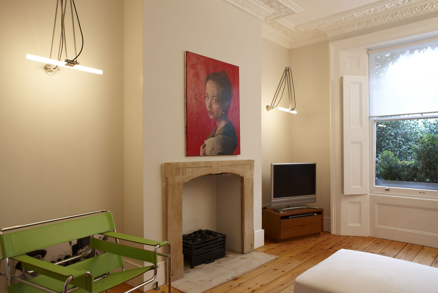 Lounge refurbishment of victorian terrace home on Kings Road, London   Residential Photographer