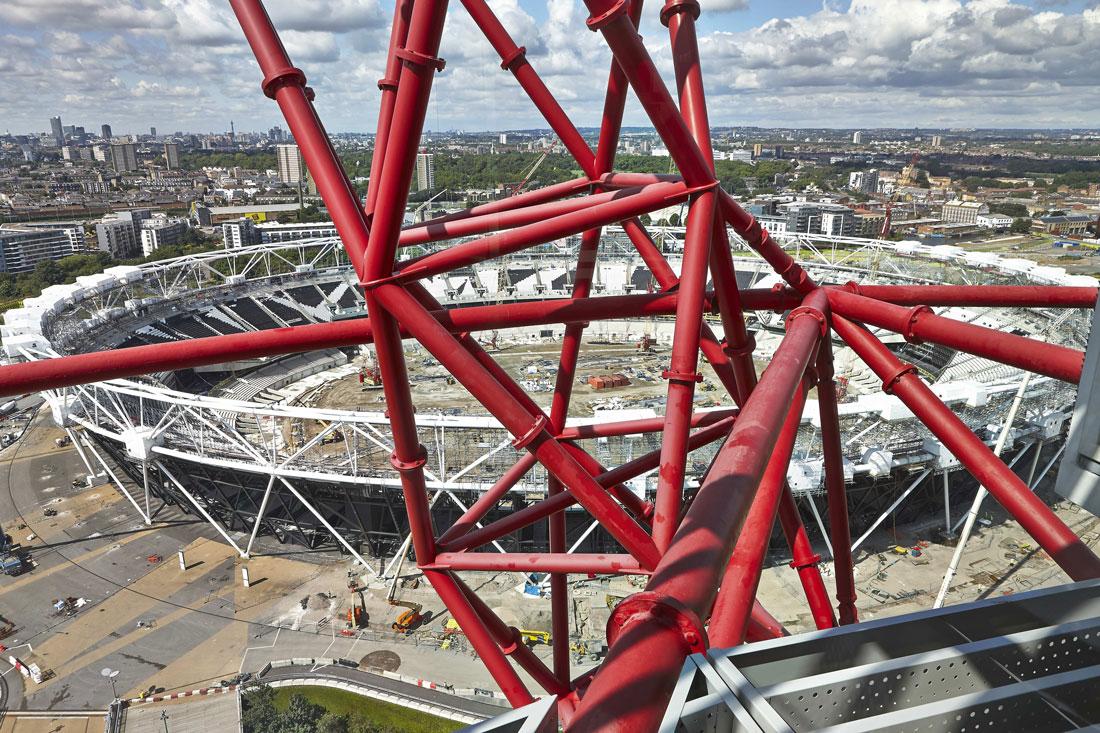 ArcelorMittal Orbit and Olympic Stadium, Queen Elizabeth Olympic Park, London | Architect Photographer