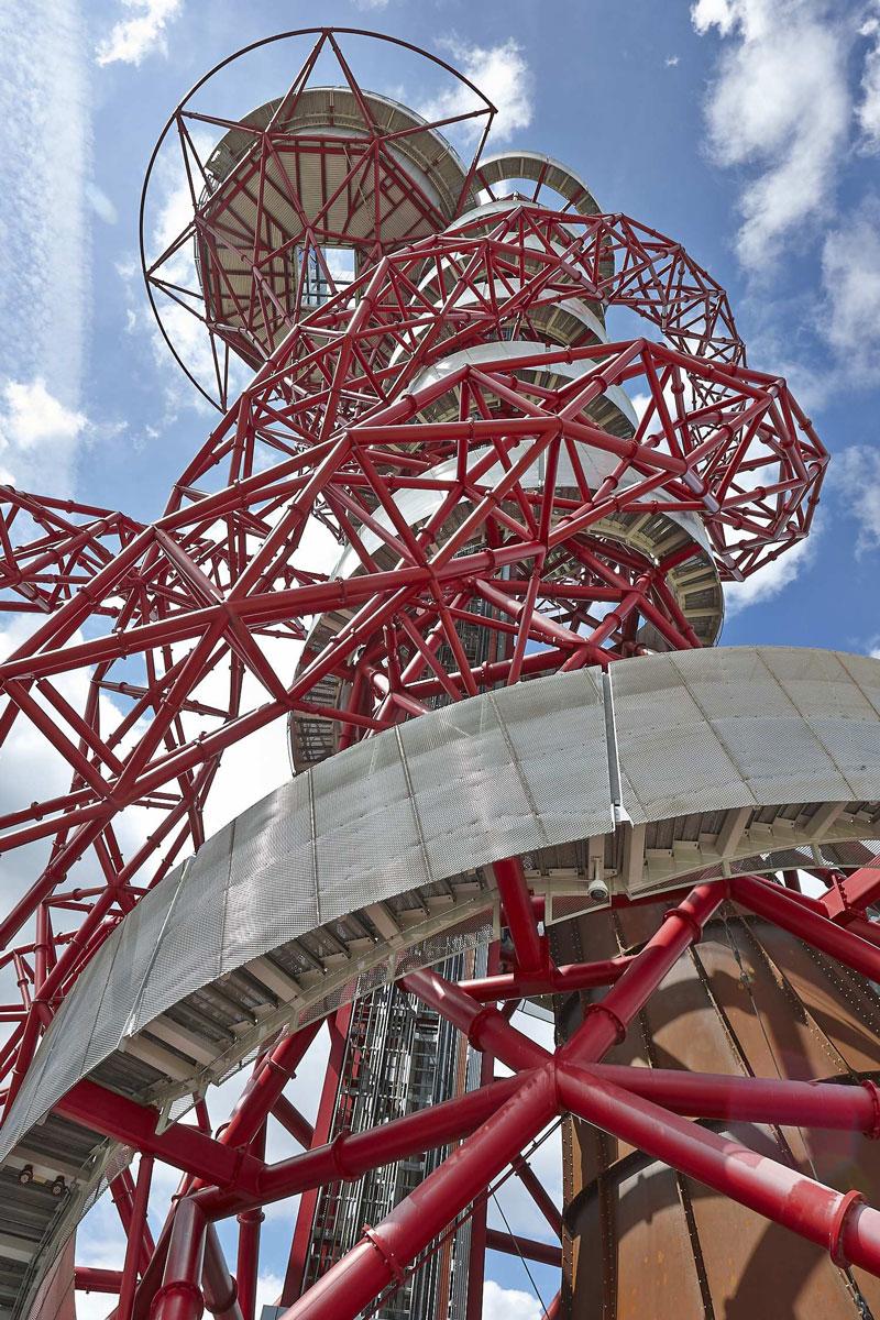 ArcelorMittal Orbit walkway, Queen Elizabeth Olympic Park, London | Architect Photographer