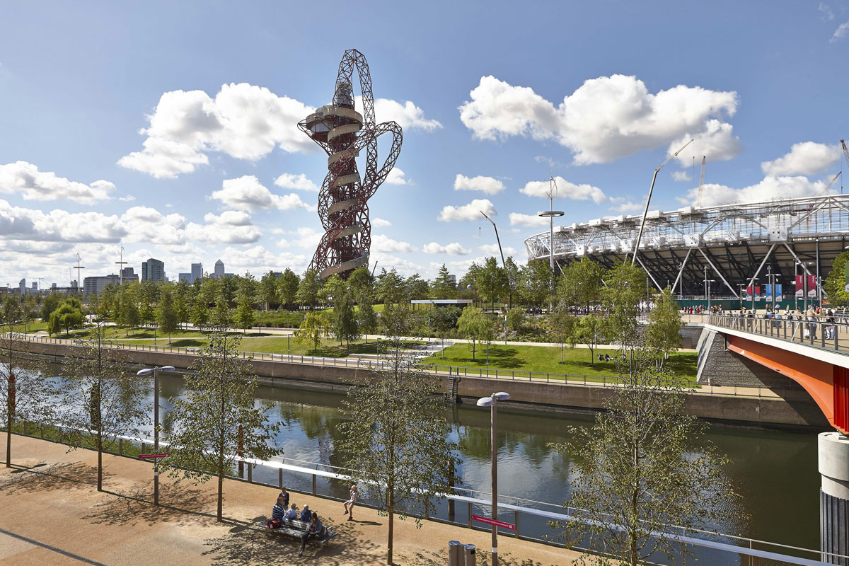 ArcelorMittal Orbit and Olympic Park, Queen Elizabeth Olympic Park, London | Architect Photographer