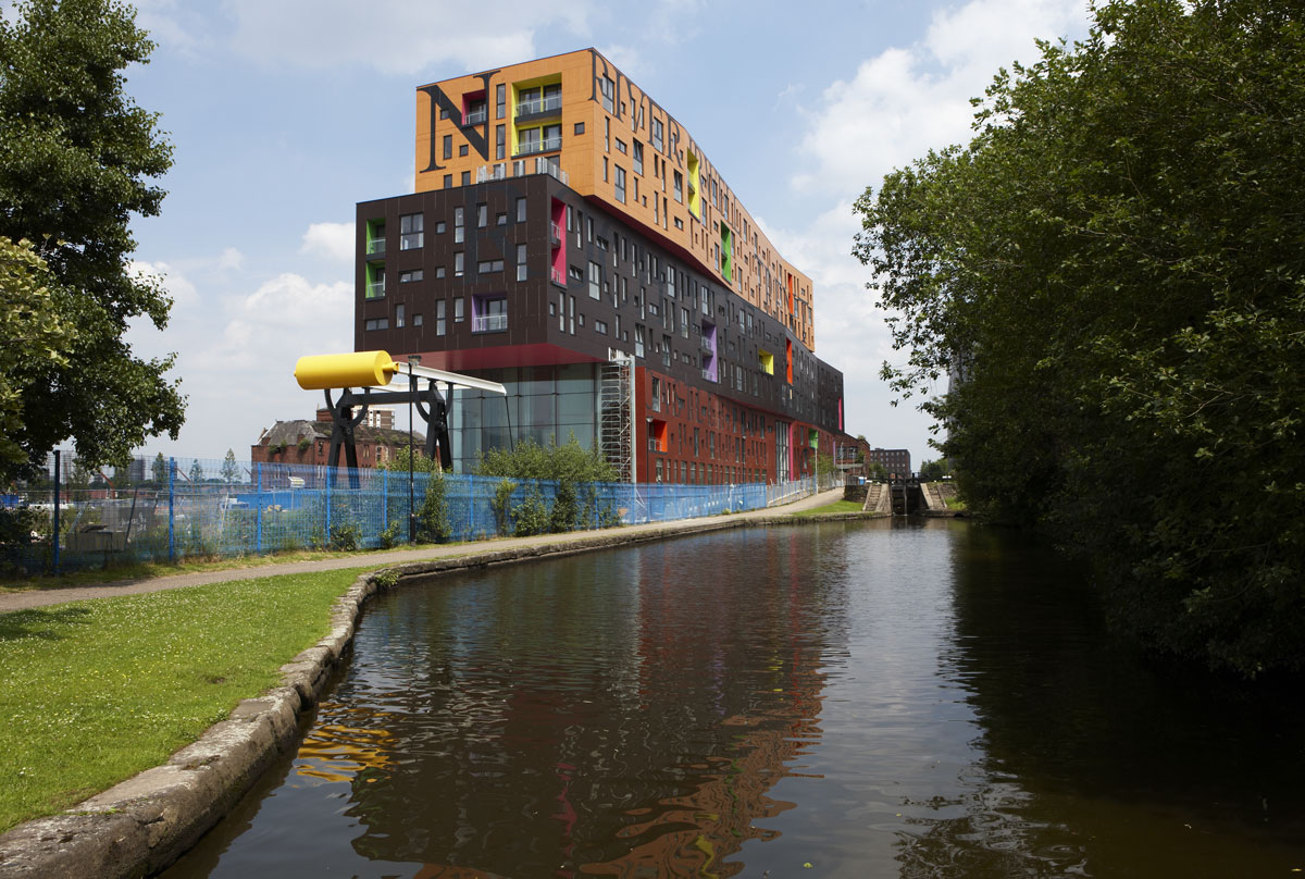 Chips in New Islington, Manchester by Will Alsop | Architecture Photography