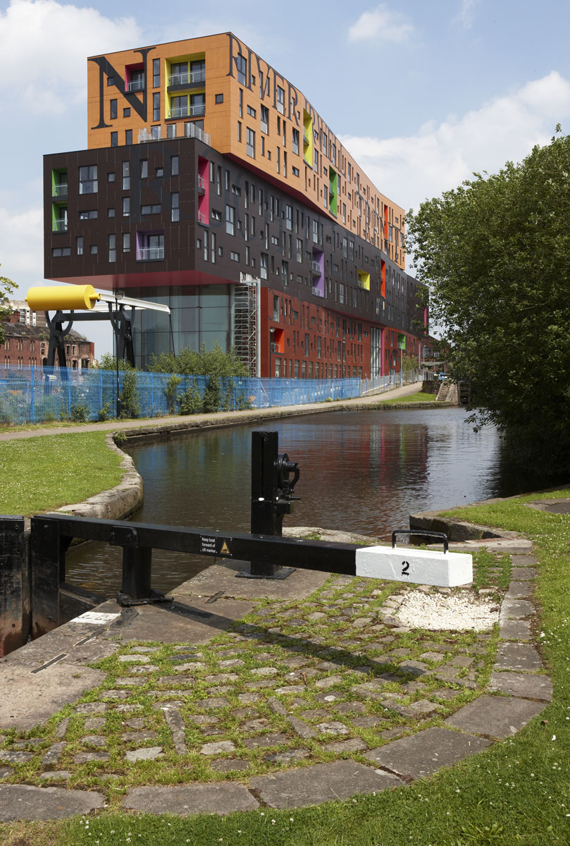 Chips in New Islington, Manchester by Will Alsop   Architect Photography London   Construction Photography