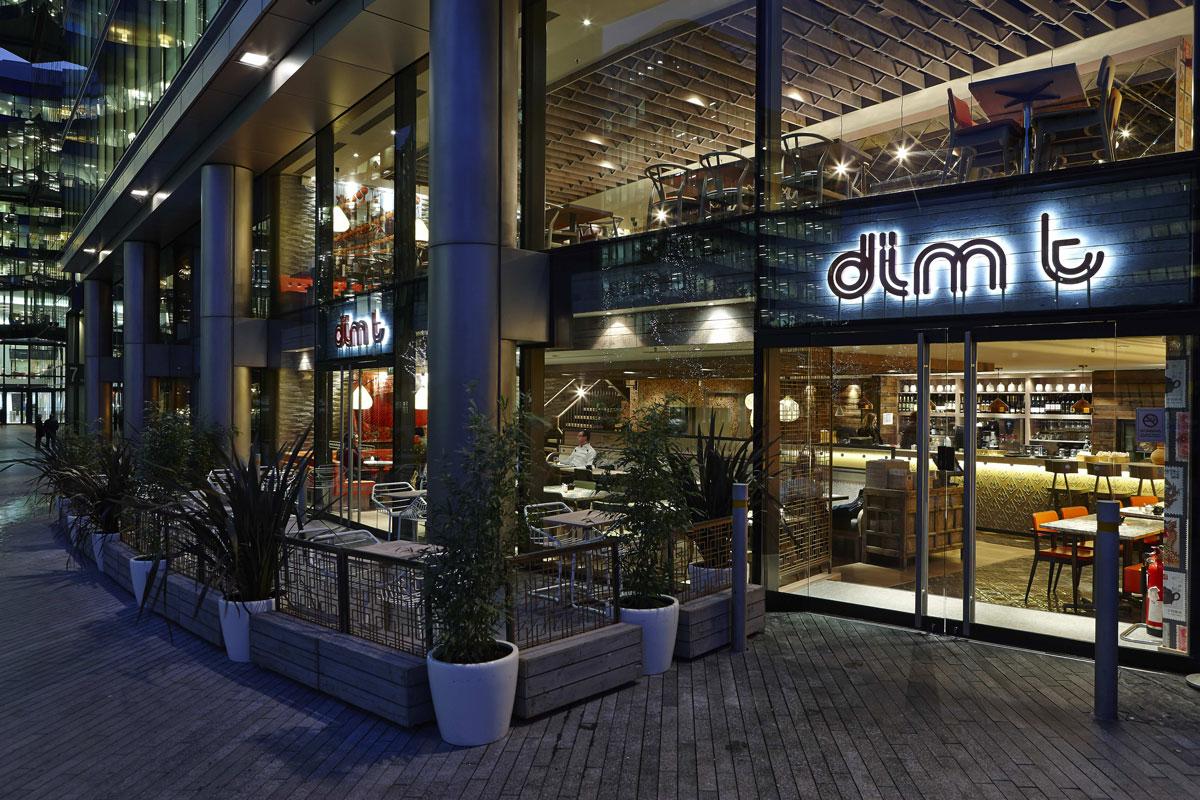 Dimt Restaurant London Bridge | Restaurant Photographer | Interiors Photographer London