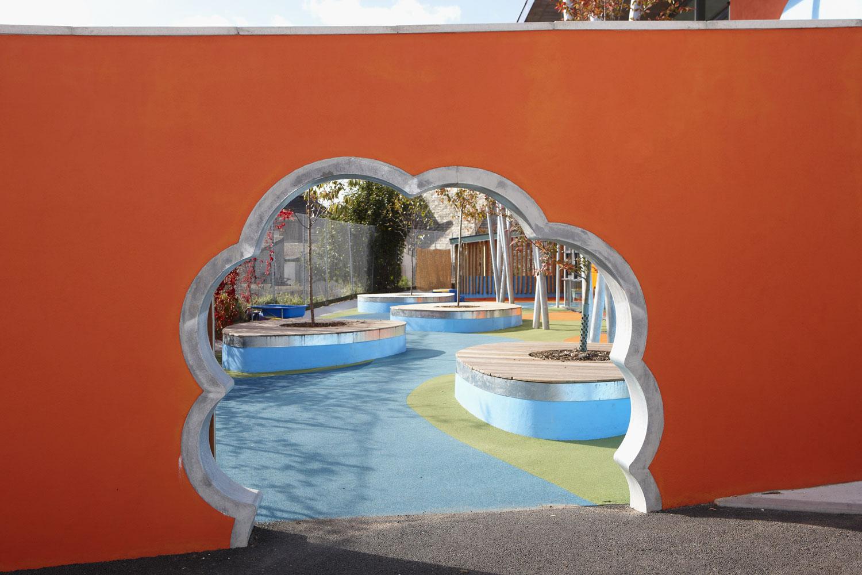 Ellacombe School Torquay School Gate | Architectural Photographers UK