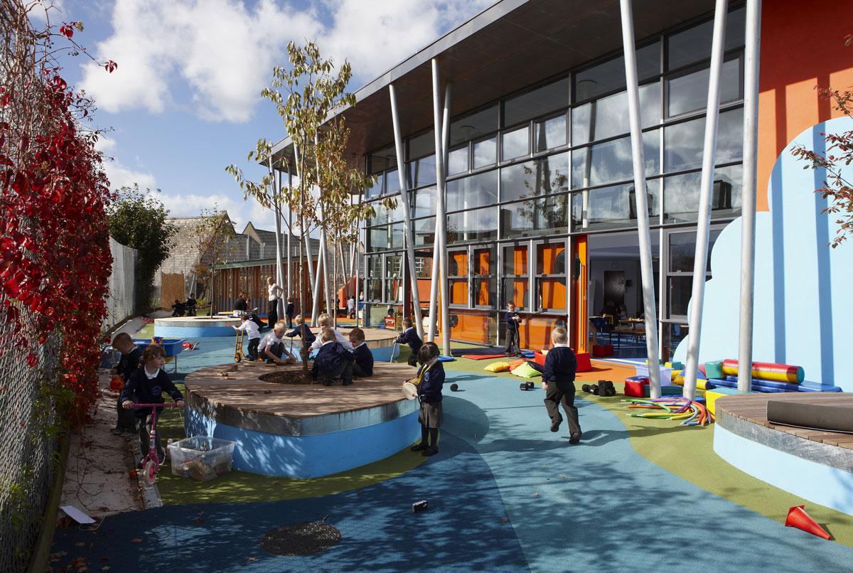 Ellacombe School Torquay Play Area | Commercial Photographer