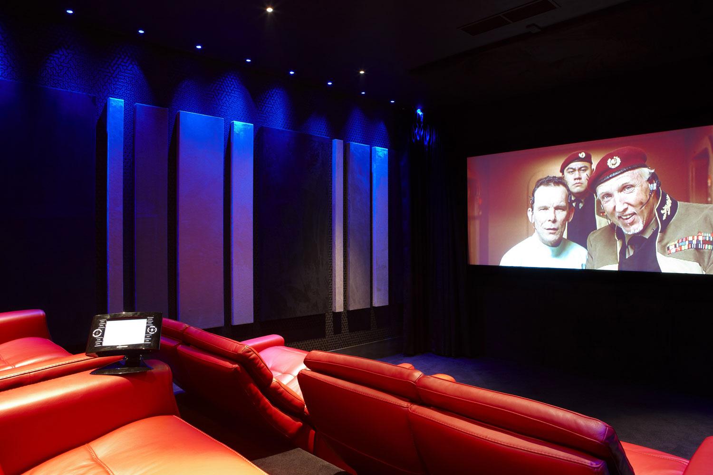 Private Residence Cinema Room, Northwood, London  Residential Photographer