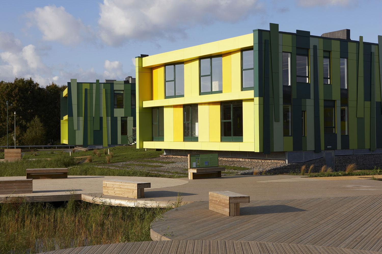 No. 1 Nottingham Science Park ponds | Architectural Photography London