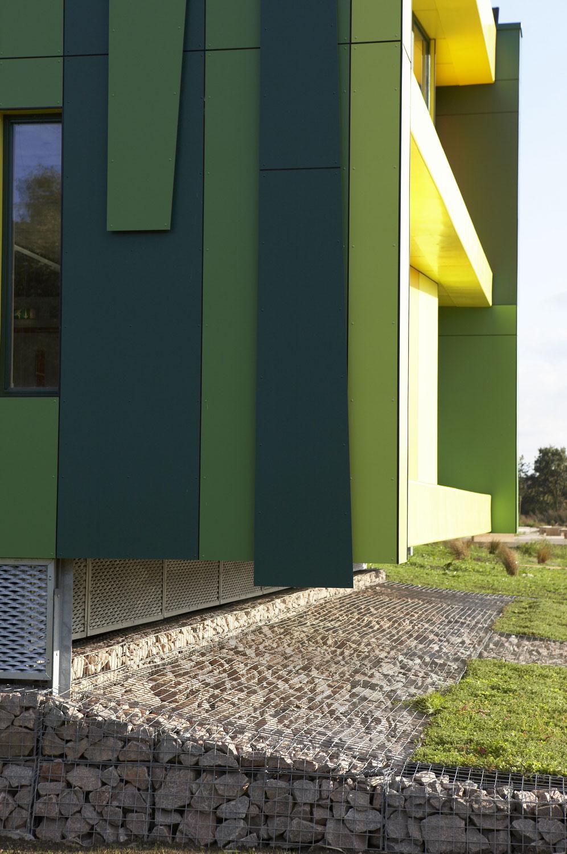 No. 1 Nottingham Science Park cladding detail | Architectural Photography | Commercial Photographer