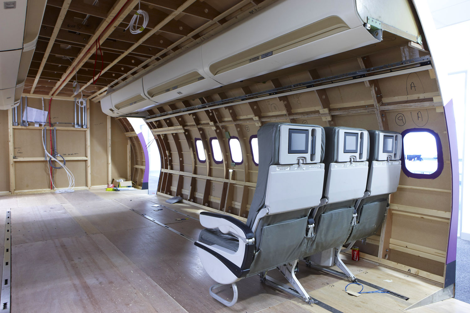 Sandwell College Aircrew Training Pod, West Bromwich, Birmingham | Interior Exterior Photography | Building Photography