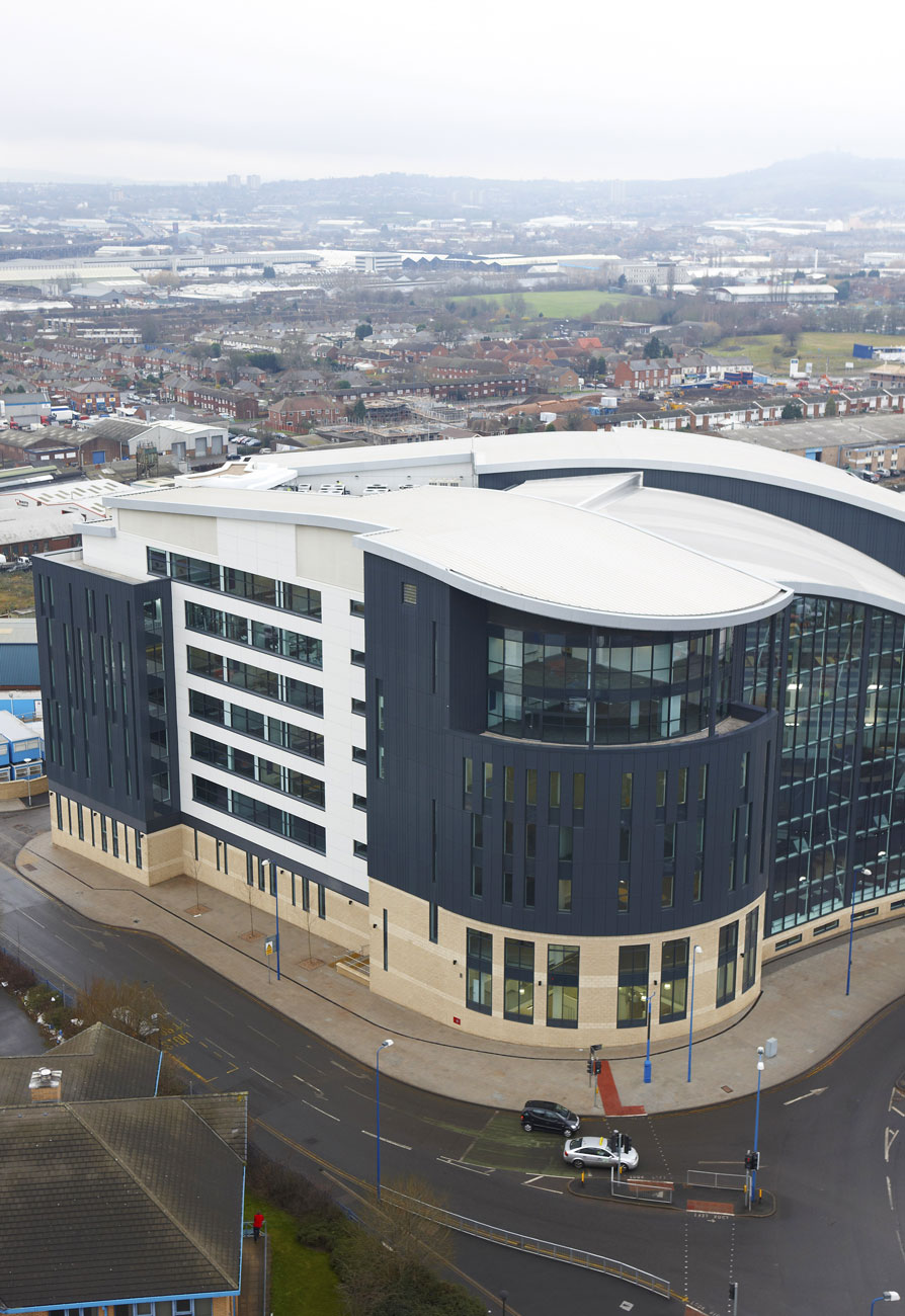 Sandwell College Aerial Photography, West Bromwich, Birmingham | Interior Exterior Photography | Building Photography