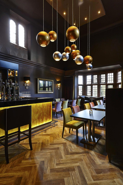 Abbey House Hotel bar, Barrow-in-Furness, Cumbria | Hotel Photographer