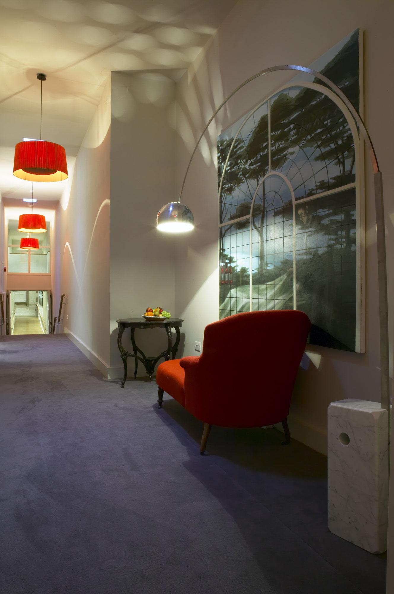 Fowey Hall Hotel seating area | Hotel Photographer