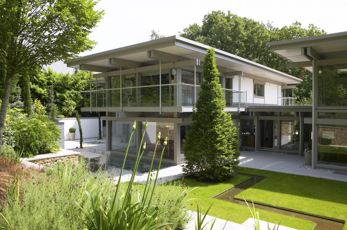 Huf Haus Home in Weybridge, Surrey   Residential Photographer