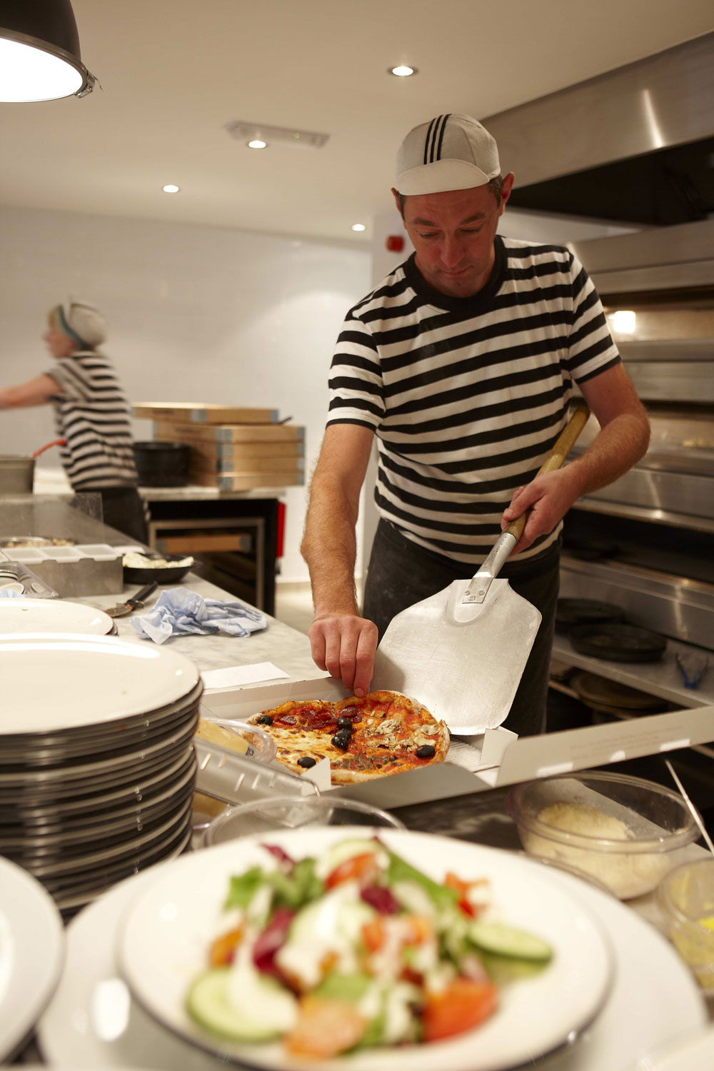 Pizza Express, St Pauls Place, Sheffield | Restaurant Photographer UK | Commercial Photography Reading