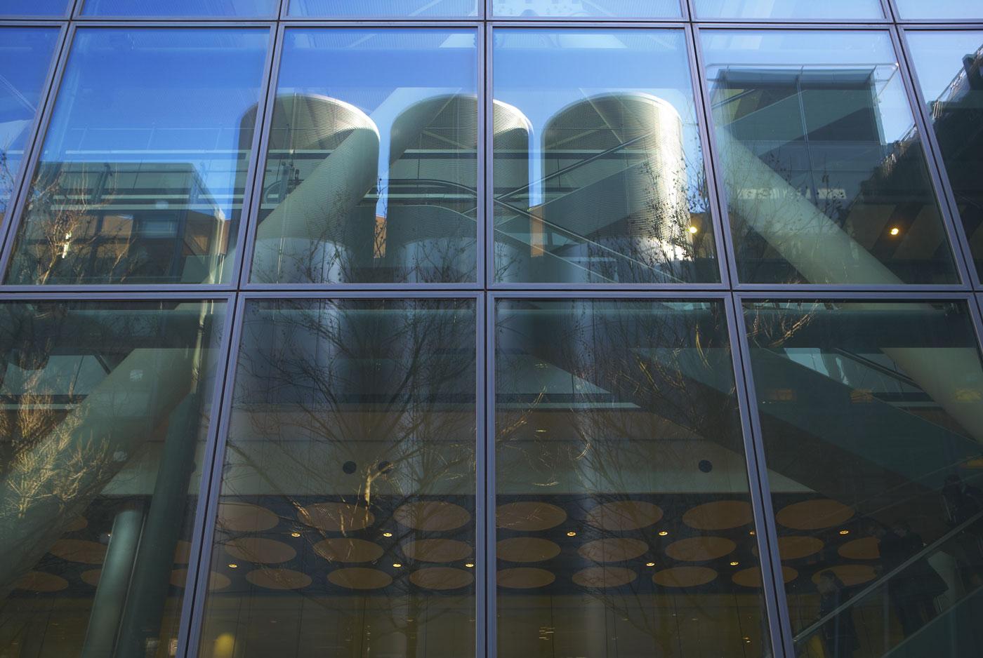Heathrow Airport Terminal 5 glazed facade | Commercial Building Photographer