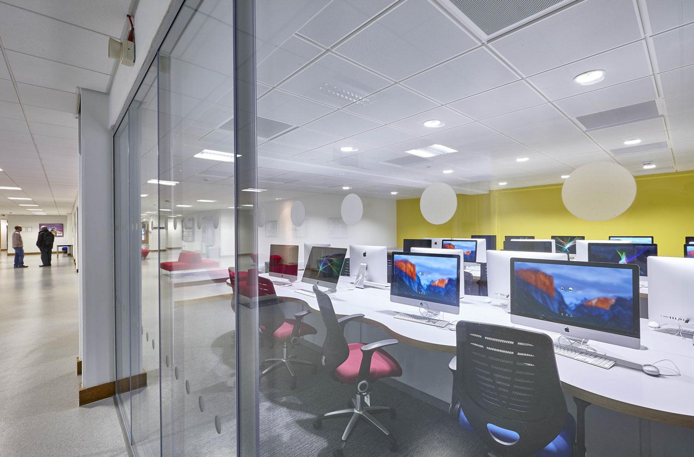 Elephant Studios Mac Lab, LSBU | Interior Photographers London | Commercial Building Photographer London