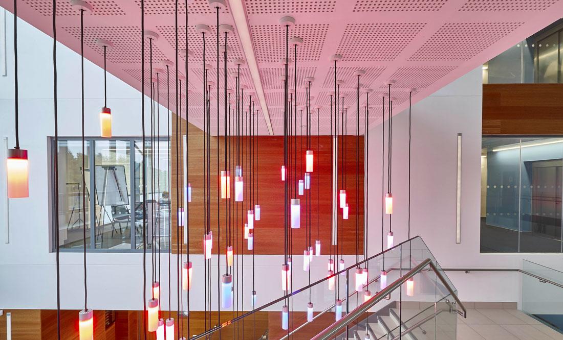 Bath University New 10 West Psychology Building Atrium | Commercial Buildings Photographer London